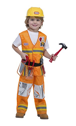 Little Tikes Construction Worker Costume, 3-4T