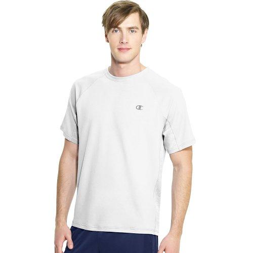 Champion VaporShort Sleeve Men's Tee_White_L