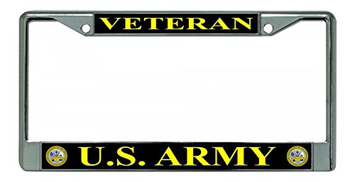 Army license plate frames the best Amazon price in SaveMoney.es