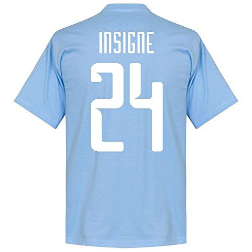Neapel Insigne T-shirt - hellblau