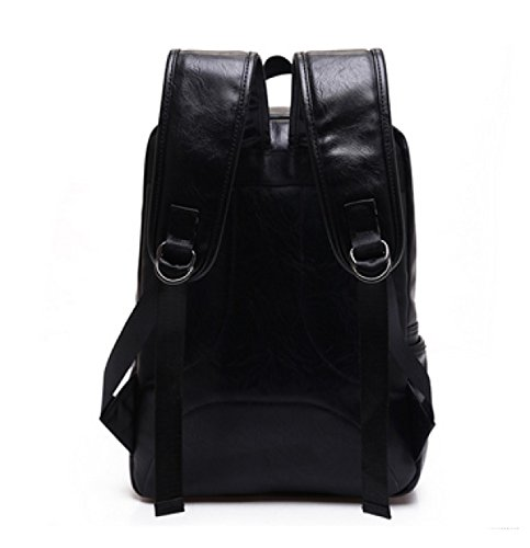 LAIDAYE Bolsa De Viaje De La Moda De Los Hombres Bolsa De Viaje Mochila Bolsa De Hombro Black