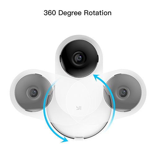 Kasmotion (Pack of 4) Yi Home Camera Mi Home Security Camera Wall Mount, 360 Degree Swivel Camera Bracket Holder Customized for Mi/Yi Home Security Camera by Kasmotion (Image #5)