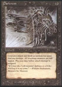 - Magic: the Gathering - Darkness - Legends