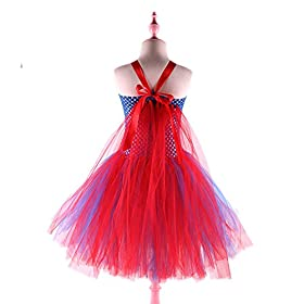 - 4159f3ywoUL - Dream-Store Little Girls Costume Dress Halloween Super Girls Cosplay Dress Costumes for Toddler and Girls