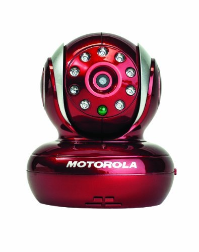 Portable, Motorola Blink1 Wi-Fi Video Camera for Remote Viewing with iPhone and Android Smartphones and Tablets, Red Color: Red Consumer Electronic Gadget Shop