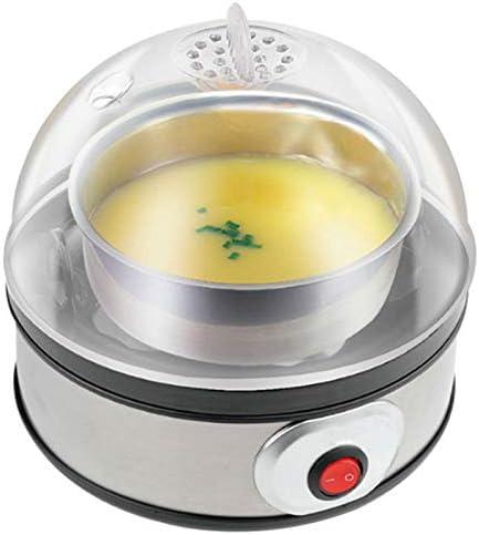Kamenda - Caldera de una ?Ufs educativos Go?Tez el huevo para cocinar un vapor de huevos 350 W 220 V portátil, robot de cocina con 7 capacidad de huevos, enchufe europeo