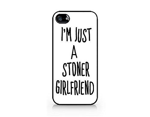 Amazon.com: Im Just A Stoner Girlfriend - Sassy Girl - Funny ...