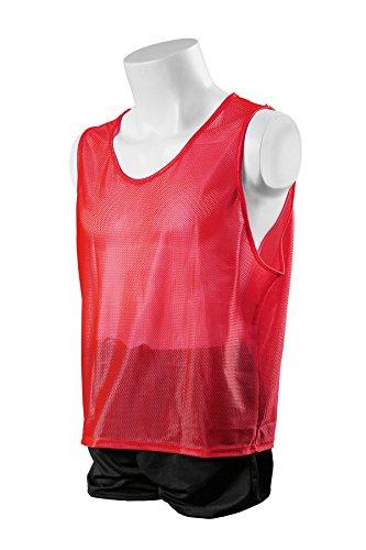 Kwik Goal Youth Deluxe Scrimmage Vest, Red