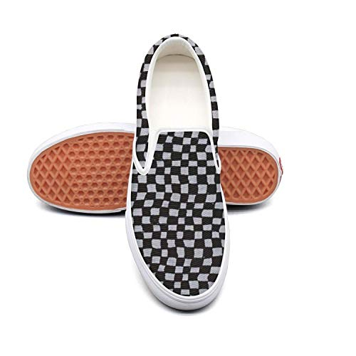 Snowman Christmas Checkerboard 2-01 white Casual Shoes for Men Slip Shock Absorption Cheap Running - Checker Berry
