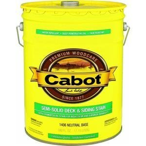 (Valspar 140.0001406.008 Cabot Semi-Solid Oil-Based Deck And Siding Stain)