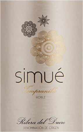 2011 Vicente Gandia Simue Tempranillo Roble, Ribera del Duero, Red Spanish Wine 750ml