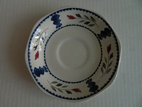 (Adams China LANCASTER Cream Soup Saucer for Breakfast Cup - SAUCER ONLY)