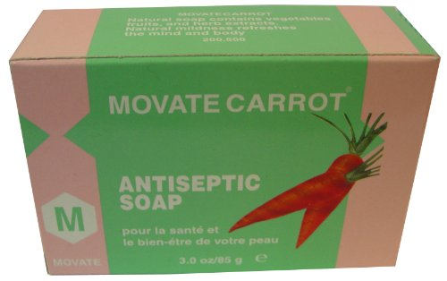 Movate Carrot Soap 85g (Movate Carrot)