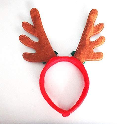 (2016 Christmas Decorative Christmas Headbands Fancy Dress Party Hat Reindeer Antlers Santa Xmas Kids Adult)