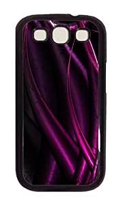 Samsung S3 Case,VUTTOO Cover With Photo: Purple Future For Samsung Galaxy S3 I9300 - PC Black Hard Case