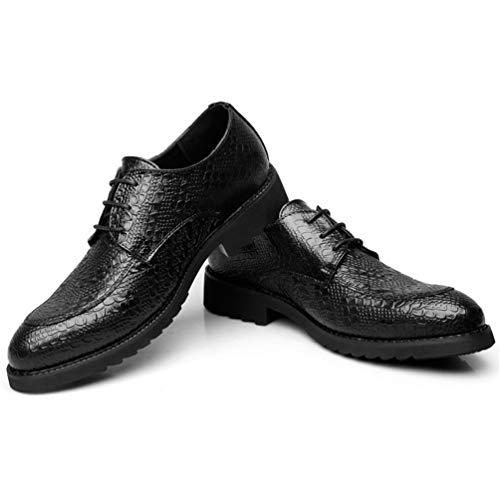 Lavoro Lavoro per Mercato Il Nero in in in Libero Classico ha Pelle Scarpe del Scarpa a nello Tempo Pizzo Slittamento Vestito Uomo da Pelle Morbida del Caso Basso awRCWwqF1