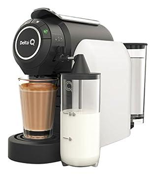Delta Q milkqool Delta Q cafetera cápsula blanco 1200 W: Amazon.es: Hogar