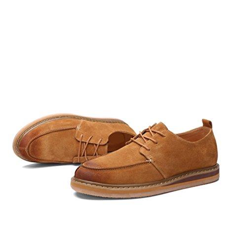 brown GRRONG Hommes Décontractées Pour Chaussures IwwCqF