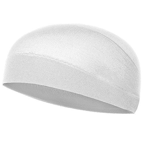 white wig cap - 2