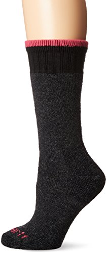 Carhartt Women's Extremes Cold Weather Boot Sock, 1 Pair, Charcoal, Shoe Size: 5.5-11.5