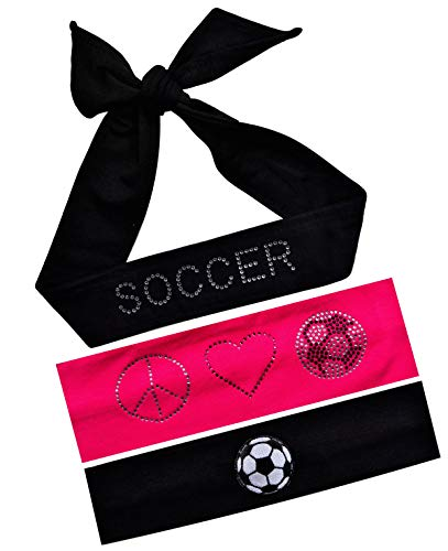 Bestselling Girls Fitness Sweat Headbands & Wristbands