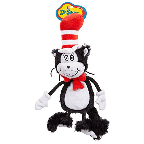 Cat In The Hats (Dr. Seuss Cat In the Hat Flat Dog Toy, Small)