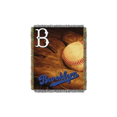 051 Dodgers Vintage Throw ()