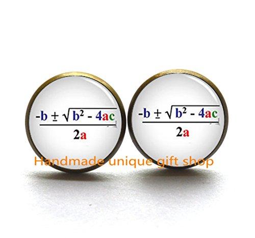 Fashion Earrings,mathematical formula Earrings, mathematical formula, Math Earrings, Math Lovers,Graduation-RC190 ()