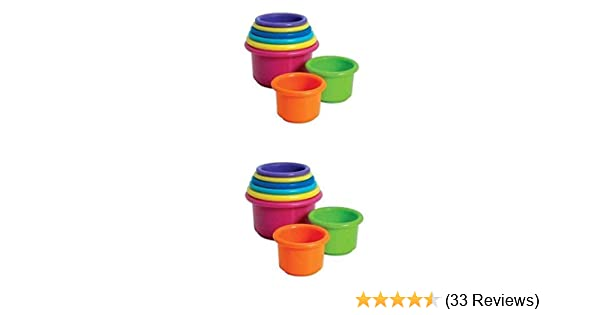 The First Years Stack Up Cups Nesting Cups Baby Stacking Toys Stackable Cups Toy