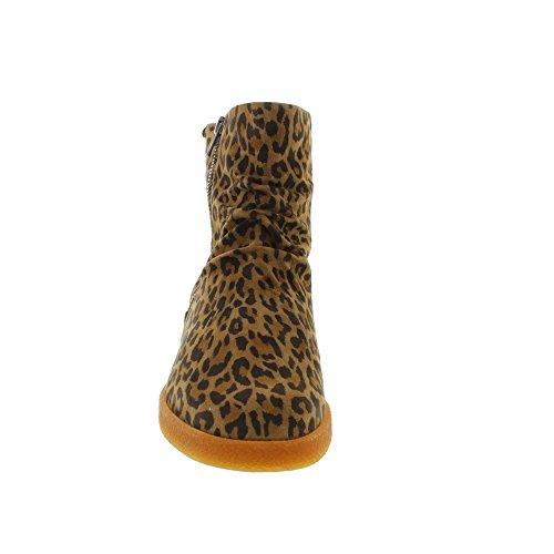 Boots Suede Dark Mephisto Brown Womens Cassandra UK 4 FPSBqXB