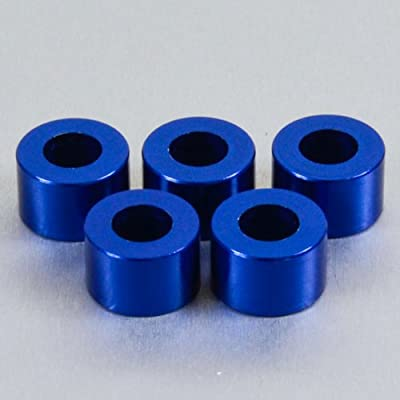 Aluminium Cup Washer M8 Blue