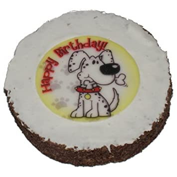 Hatchwell Dog Birthday Cake Size 4in Dia By 3 Thick Amazoncouk Pet Supplies