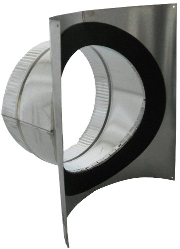 Collar Duct Round - Speedi-Products SM-SDL90 06 6-Inch Diameter Round Duct 90-Degree Saddle Take Off with Gasket