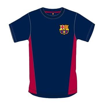 Oficial FC Barcelona azul marino y rojo camiseta tamaño mediano: Amazon.es: Deportes y aire libre