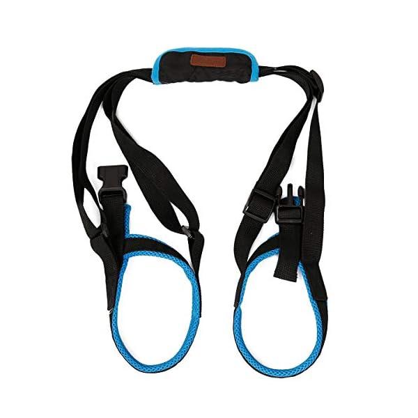 ZEEY Pet Dog Canine Sling Dog Lift Harness Dog Leg Brace Adjustable Straps for Hind Back Leg – Help Support Balance Dogs… Click on image for further info.