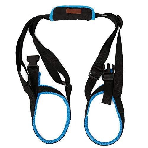ZEEY Pet Dog Canine Sling Dog Lift Harness Dog Leg Brace Adjustable Straps for Hind Back Leg – Help Support Balance Dogs…