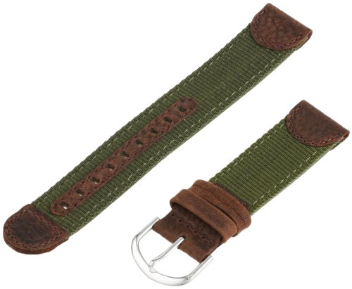 Voguestrap TX541261 Allstrap 20mm Olive Regular-Length Fits Expedition-Water Resist Watchband