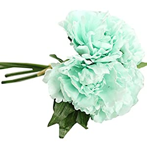 YJYdada Artificial Fake Flowers Leaf Magnolia Floral Wedding Bouquet Party Home Decor 12