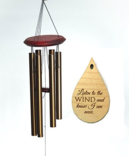 Memorial Wind Chime Chimes In Memory Of Loved Ones Teardrop PRIME Rush Shipping for Funeral Loss in Memory of Loved One Copper Wind Chime for Memorial Garden Remembering a Child stillborn Drop Chimes