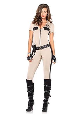 Leg Avenue Women's 4 Piece Deputy Patdown