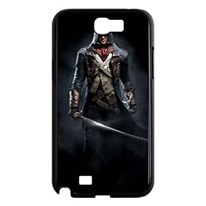 Assassin'S Creed Unity Samsung Galaxy N2 7100 Cell Phone Case Black TPU Phone Case SV_214216