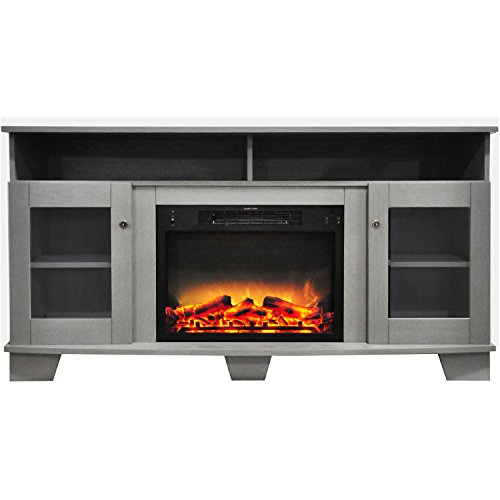 59 inch electric fireplace - 4