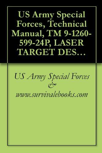 US Army Special Forces, Technical Manual, TM 9-1260-599-24P, LASER TARGET DESIGNATOR AN-PAQ-1, 1260-01-041-1567, (LASER TARGET DESIGNATOR SYSTEM), (1260 Laser)