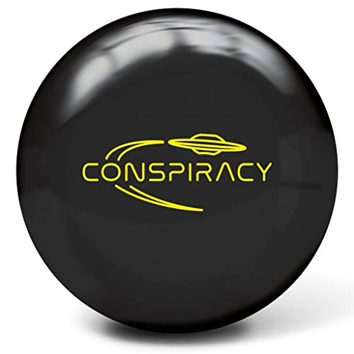 Radical Bowling Products Conspiracy Bowling Ball- 14Lbs, Black, 14