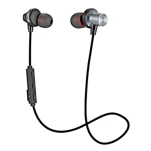 bluetooth headphones best wireless earbuds with crystal clear sound and deep bass. Black Bedroom Furniture Sets. Home Design Ideas