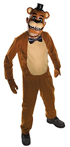 Five Nights At Freddy's Costume (Five Nights Child's Value-Priced  at Freddy's Freddy Costume, Large)