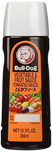 Bulldogs Bottle (Bull-Dog Vegetable & Fruit Tonkatsu Sauce 10.1 Fl. Oz. (2 Bottles))