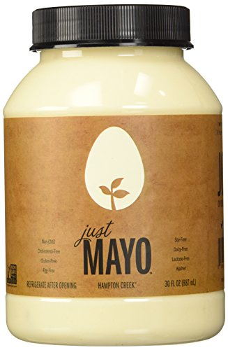 Hampton Creek, Just Mayo, Original, Gluten Free, Soy Free, Egg Free, 30oz Jar, Pack of (Egg Mayonnaise)