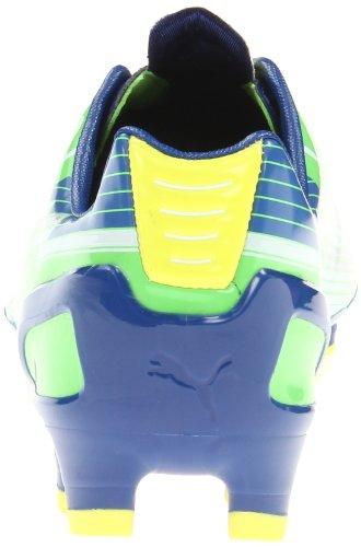 PUMA Mens evoSPEED 1 Firm-Ground Soccer Cleat Jasmine Green/White/Monaco Blue otNJkC8