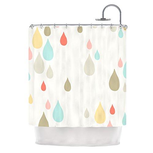 "Kess InHouse Very Sarie ""Rainy Days"" Shower Curtain, 69 x..."
